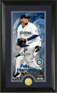 Seattle Mariners Felix Hernandez Supreme Bronze Coin Photo Mint