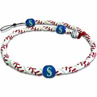 Seattle Mariners Frozen Rope Baseball Necklace