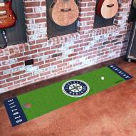 Seattle Mariners Golf Putting Green Mat