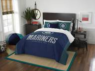 Seattle Mariners Grand Slam Full/Queen Comforter Set