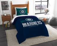 Seattle Mariners Grand Slam Twin Comforter Set