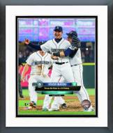 Seattle Mariners Hisashi Iwakuma No-Hitter Framed Photo