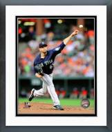 Seattle Mariners James Paxton 2014 Action Framed Photo