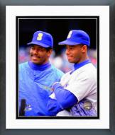 Seattle Mariners Ken Griffey Jr. & Ken Griffey Sr. 1991 Framed Photo