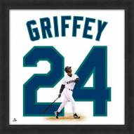 Seattle Mariners Ken Griffey Jr. Uniframe Framed Jersey Photo