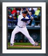 Seattle Mariners Logan Morrison 2014 Action Framed Photo