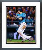 Seattle Mariners Mike Zunino 2014 Action Framed Photo