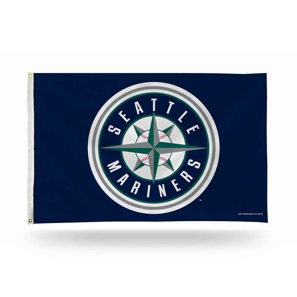 Seattle Mariners MLB 3' x 5' Banner Flag