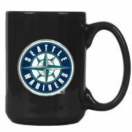 Seattle Mariners MLB 2-Piece Ceramic Coffee Mug Set