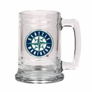 Seattle Mariners MLB 2-Piece Glass Tankard Beer Mug Set