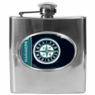 Seattle Mariners MLB 6 Oz. Stainless Steel Hip Flask