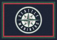 Seattle Mariners MLB Team Spirit Area Rug