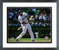 Seattle Mariners Nelson Cruz 2015 Action Framed Photo