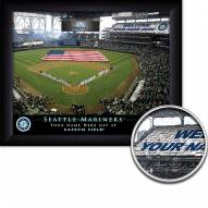Seattle Mariners Personalized Framed Stadium Print