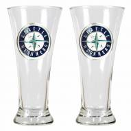 Seattle Mariners Premiere Pilsner Glass Set