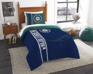 Seattle Mariners Twin Comforter & Sham Set