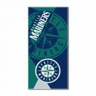 Seattle Mariners Puzzle Beach Towel