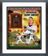 Seattle Mariners Randy Johnson MLB HOF Legends Framed Photo