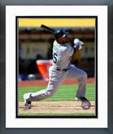 Seattle Mariners Rickie Weeks 2015 Action Framed Photo