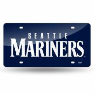 Seattle Mariners Laser Cut License Plate