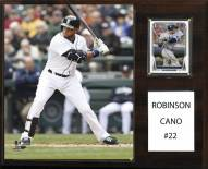 "Seattle Mariners Robinson Cano 12"" x 15"" Player Plaque"
