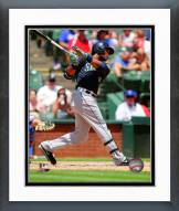 Seattle Mariners Robinson Cano 2014 Action Framed Photo