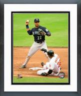Seattle Mariners Robinson Cano 2015 Action Framed Photo