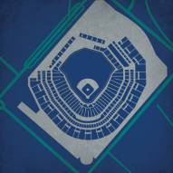 Seattle Mariners Safeco Field Stadium Print