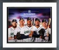 Seattle Mariners Seattle Mariners 2014 Team Composite Framed Photo
