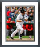Seattle Mariners Seth Smith 2015 Action Framed Photo