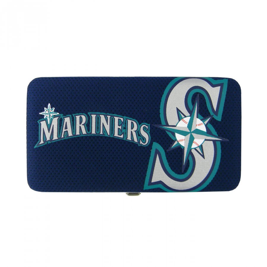 Seattle Mariners Shell Mesh Wallet