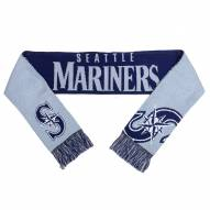 Seattle Mariners Split Logo Reverse Scarf
