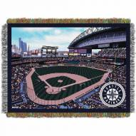 Seattle Mariners Stadium Throw Blanket