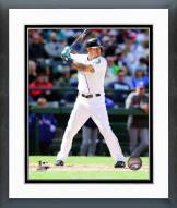 Seattle Mariners Stefen Romero 2014 Action Framed Photo