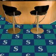 Seattle Mariners Team Carpet Tiles