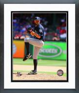 Seattle Mariners Tom Wilhelmsen 2014 Action Framed Photo