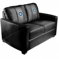 Seattle Mariners XZipit Silver Loveseat