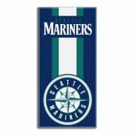 Seattle Mariners Zone Read Beach Towel