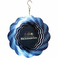 "Seattle Seahawks 10"" Geo Spinner"