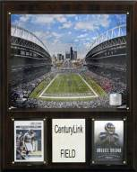 "Seattle Seahawks 12"" x 15"" Stadium Plaque"