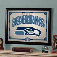 "Seattle Seahawks 23"" x 18"" Mirror"