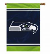 "Seattle Seahawks 28"" x 40"" Banner"