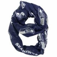 Seattle Seahawks Alternate Sheer Infinity Scarf