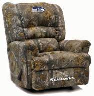 Seattle Seahawks Big Daddy Camo Recliner
