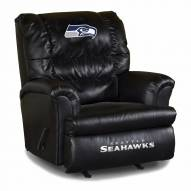 Seattle Seahawks Big Daddy Leather Recliner