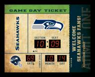 Seattle Seahawks Bluetooth Scoreboard Wall Clock