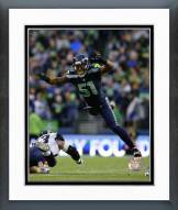 Seattle Seahawks Bruce Irvin 2014 Action Framed Photo