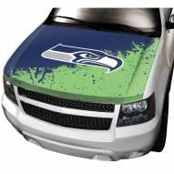 Seattle Seahawks Car Hood Cover
