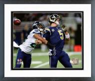 Seattle Seahawks Cary Williams 2015 Action Framed Photo