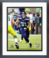 Seattle Seahawks Cassius Marsh 2014 Action Framed Photo
